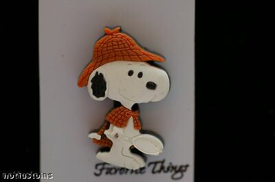 Peanuts Snoopy Detective Snoopy Pvc Pin Uf050