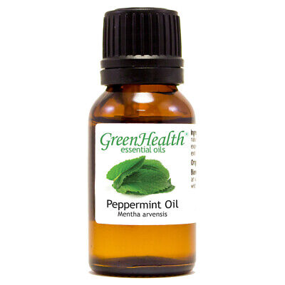 15 ml Green Health Peppermint Essential Oil - Pure Natural - Same Day Shipping