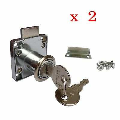 * XiaoBoShi  NEW DRAWER,CUPBOARD LOCK WITH 2 KEYS *
