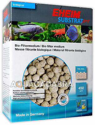 Eheim Substrat Pro 2L Sub Strat Bio Filter Media Biological Aquarium Fish Tank
