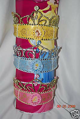 Disney Store Deluxe Princess Tiara Crown Jeweled NWT