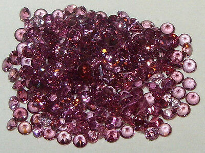 2.5mm Calibrated Tanzania Mixed Shade Rhodolite 2 For 1