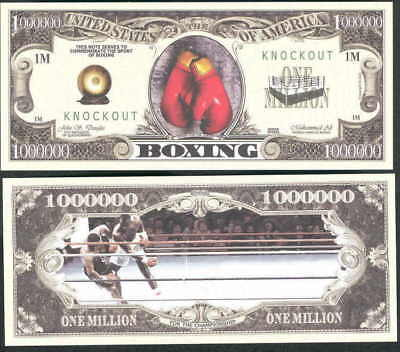 Lot of 100 - BOXING, KNOCKOUT MILLION DOLLAR BILLS