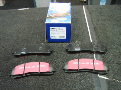 Ford Explorer 4.0 1997-On Ebc Ultimax Front Brake Pads