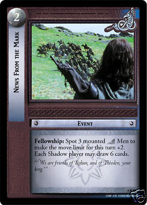 LOTR TCG  1R81 Questions that need answering x4