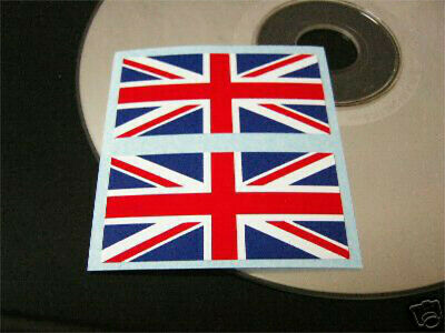 2* UNION JACK-/England-AUFKLEBER [sticker/transfer]