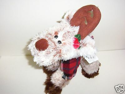 New Decorative 15 Inch Christmas Finney The Reindeer