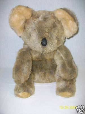 America Wego KOALA BEAR Plush Stuffed Toy Animal 1982