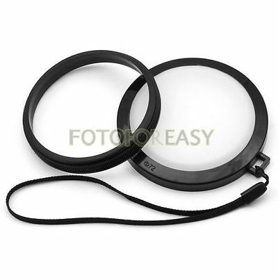 77mm White Balance Lens Filter Cap with Filter Mount