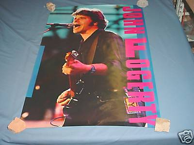 JOHN FOGERTY In Concert NICE RARE Poster 1986