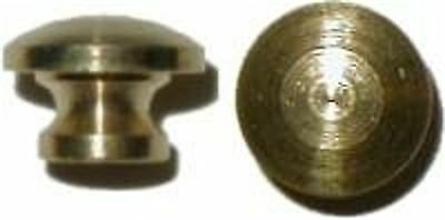 Small Turned Solid Brass Knob   B0303