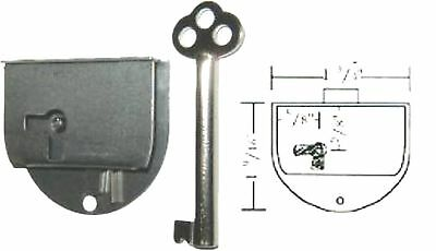Repair Parts Round Half Mortise Lock & Key S1837