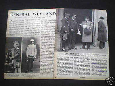 Article - General Maxime Weygand French Commander 1940