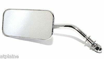 Retroviseur Reversible Rectangulaire Custom Chrome Pour Harley-Davidson