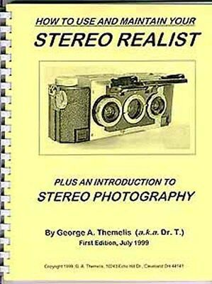Stereo Realist Camera BOOK by DrT