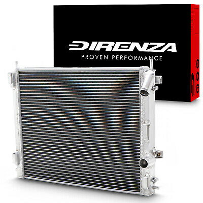DIRENZA 40mm ALLOY RACE RADIATOR RAD FOR RENAULT CLIO 172 182 2.0 16V NON AC