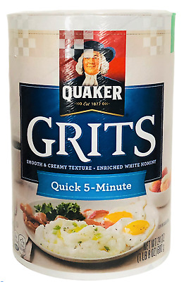 Quaker Grits Enriched White Hominy 24 oz