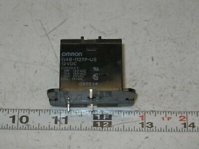Omron G4B-112TP-US Solid State Relay 12VDC
