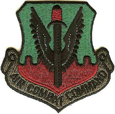 New Air Combat Command Military Army Patch Badge Iron-On Transfer Embroided Sew