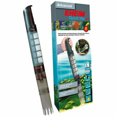 Eheim Quick Vac 3531 Battery Sludge Vacuum Gravel Cleaner Fish Tank Aquarium