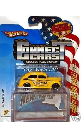 Hot Wheels Connect Cars Fat Fendered '40 Ford New York