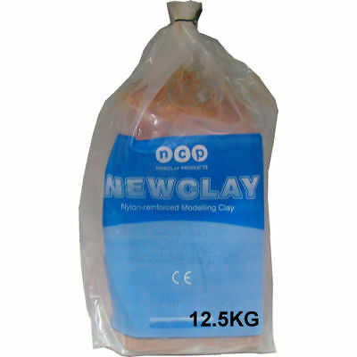 Newclay Terracotta 12.5Kg Reinforced Air Drying Clay