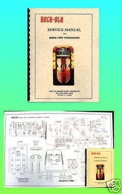 Rock-Ola 1422 Manual & Wiring Diagram