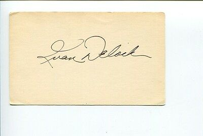 Ike Ivan Delock Boston Red Sox Baltimore Orioles Signed Autograph