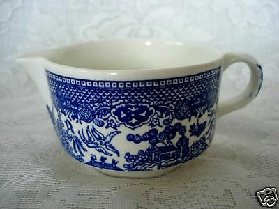 Collectible Vintage ROYAL CHINA Blue Willow Ceramic Creamer - Made in U.S.A.