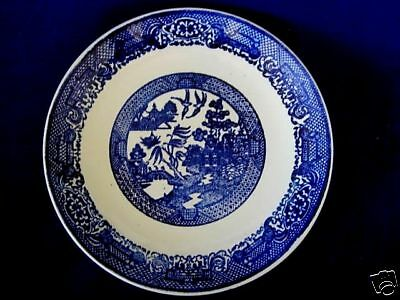 Collectible Vintage Blue Willow Luncheon/Dinner Plate - Made in Japan