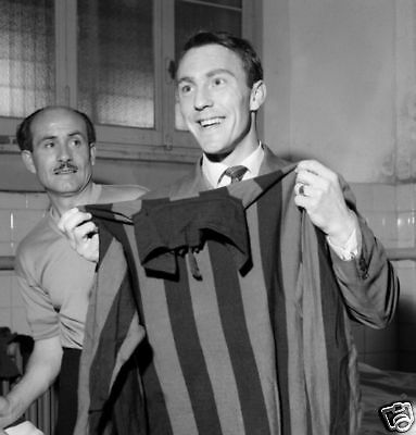 Jimmy Greaves Joins Milan 10x8 Photo