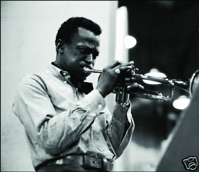 Miles Davis Jazz Legend 10x8 Photo #3