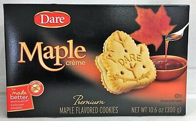 Dare Maple Leaf Cream Cookies 10.6 oz