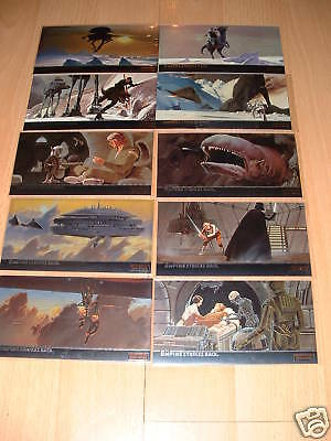 Topps Star Wars Esb Widevision Chrome Cards C1-C10