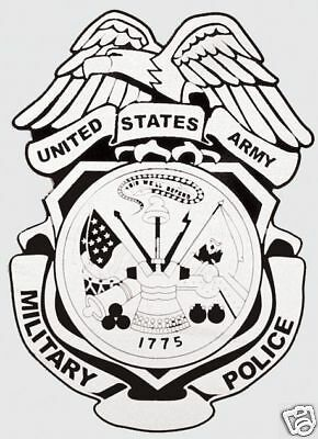 Army Military Police Badge Military Sticker  Decal