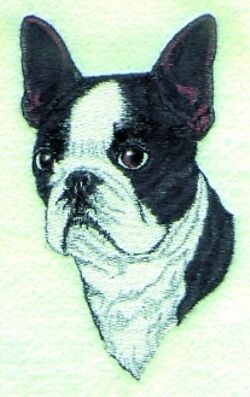 BOSTON TERRIER DOG Tote Bag breed black puppy NEW!