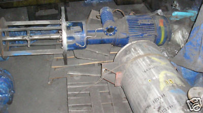 30  HP Ekato Stainless  High Shear Mixer Item #8219
