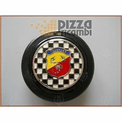 *FRP* CLACSON VOLANTE ABARTH FIAT 500 126 ext 59,00 int 52,00 49,00 mm steering