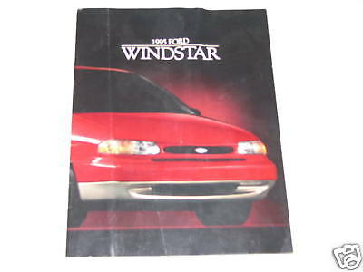 95 Ford Windstar Dealership Sales Brochure USED 1995 Canada