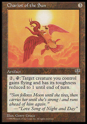 Mtg Chariot Of The Sun - Carro Del Sole - Mrg - Magic