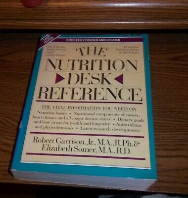 The Nutrition Desk Reference by Somer & Garrison KM