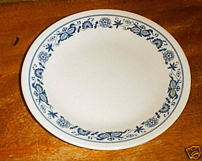 NEW Corelle OLD TOWN BLUE Lunch Plates - chk qty
