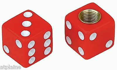 Lot de 2 ECROUS BORGNES DICE rouges M6