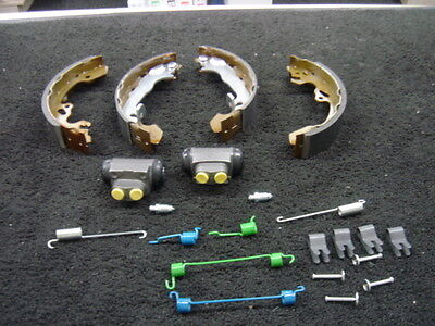 FORD FOCUS 98-04 REAR BRAKE SHOES CYLINDERS FITTING KIT