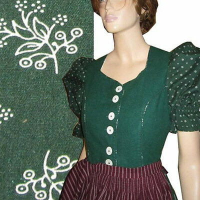 Bavarian Landhaus COUNTRY Dirndl  by DISTLER Puff Sleeves Bust 38 OKTOBERFEST