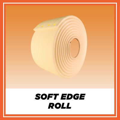 6 x SOFT EDGE FOAM MASKING TAPE 55m ROLL BEST EBAY DEAL