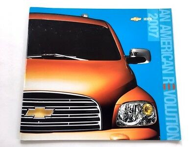 2007 Chevrolet HHR 24-page Original Car Sales Brochure Catalog - Chevy