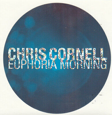 "CHRIS CORNELL Euphoria Morning 4""x4"" PROMO STICKER ©1999 SoundGarden AudioSlave"
