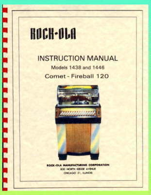 Rock-Ola 1438 and 1446 Comet-Fireball Service & Parts Manual