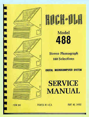 Rock-Ola 488 Juke Box Service & Parts Manual